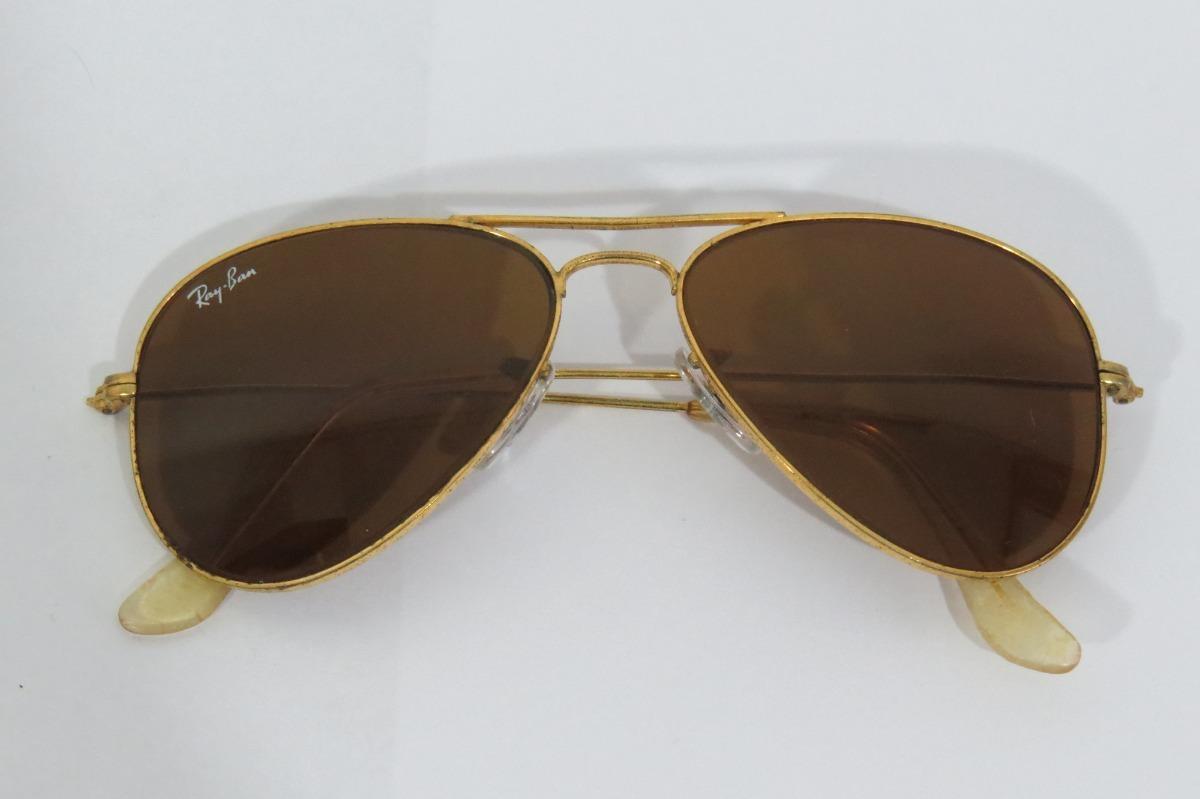 2444b2e012e8e Óculos Ray-ban Aviador Original Americano Usado Ray Ban - R  59,90 em  Mercado Livre