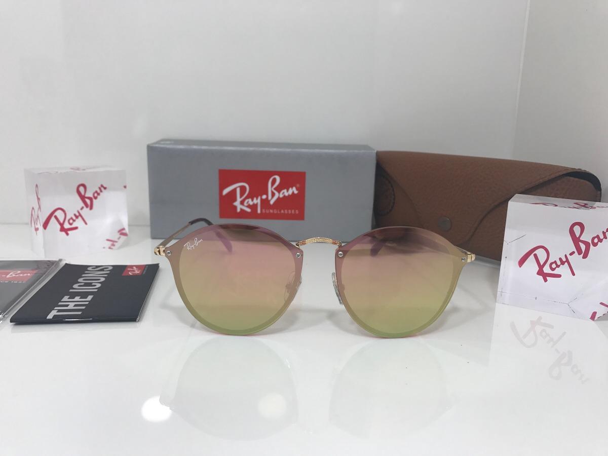 oculos ray ban rb 3574-n blaze round original frete grátis. Carregando zoom. fd68623ebd