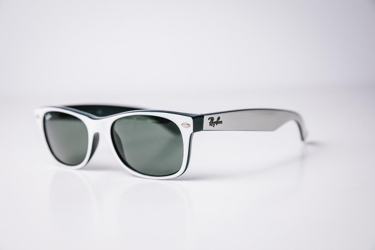 e03a959d9fa79 óculos ray-ban rb2132 new wayfarer 770 original seminovo. Carregando zoom.