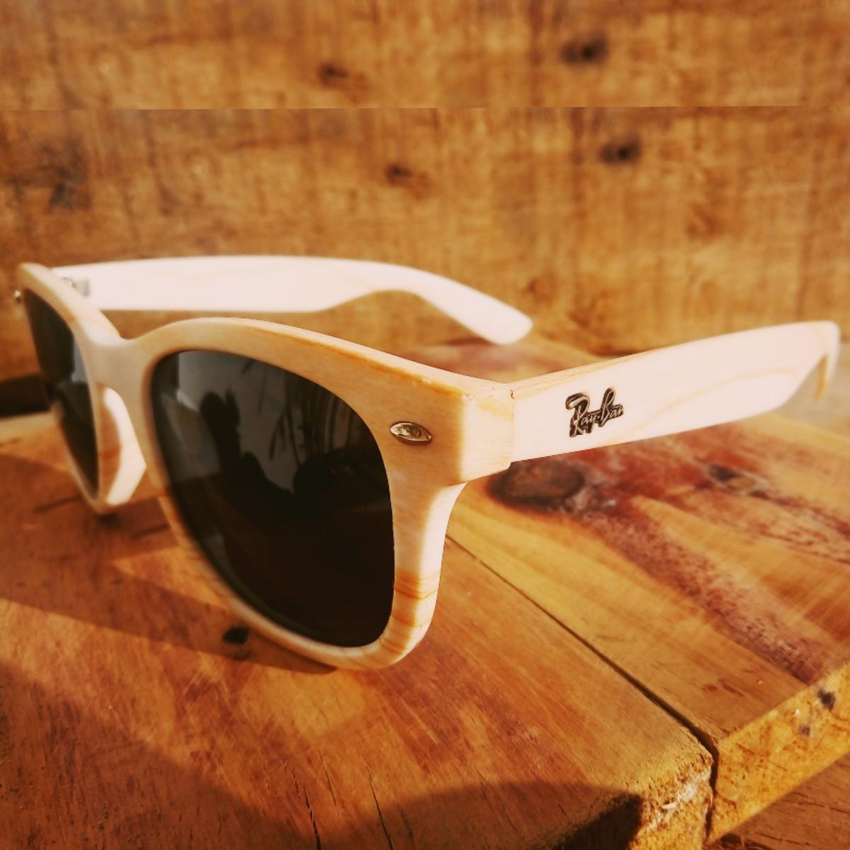 18fc321c7 Oculos Ray Ban Rb2140 Wayfarer Efeito Madeira Polarizado - R$ 120,00 ...