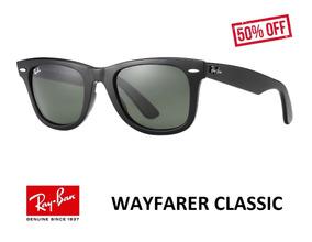 89b82ff9e Ray Ban 2140 Wayfarer Marrom - Óculos no Mercado Livre Brasil