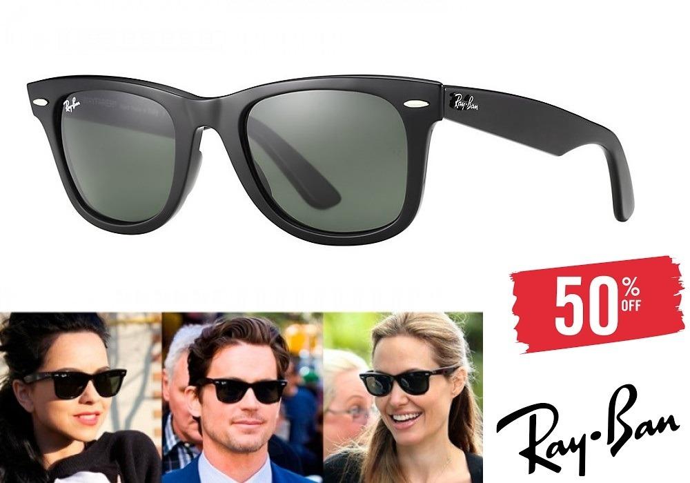 1a44aca0b óculos ray-ban rb2140 wayfarer original masculino feminino. Carregando zoom.