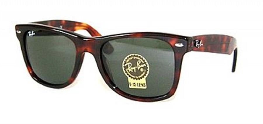 083bf6d36 óculos ray-ban rb2140 wayfarer tartaruga verde g15 original. Carregando  zoom.