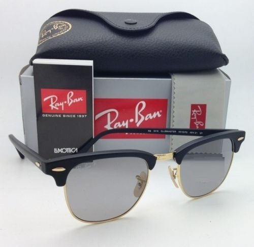 1f14d5ff2c43f Oculos Ray Ban Rb3016 Clubmaster Espelhad Feminino Masculino - R ...