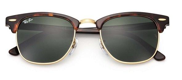 9c5de87f8f125 Óculos Ray-ban Rb3016 Clubmaster Original Frete Grátis - R  229