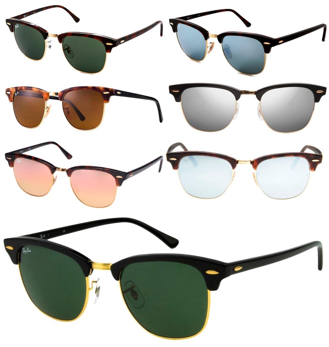 96e452446b20c3 óculos ray-ban rb3016 clubmaster original masculino feminino. Carregando  zoom.