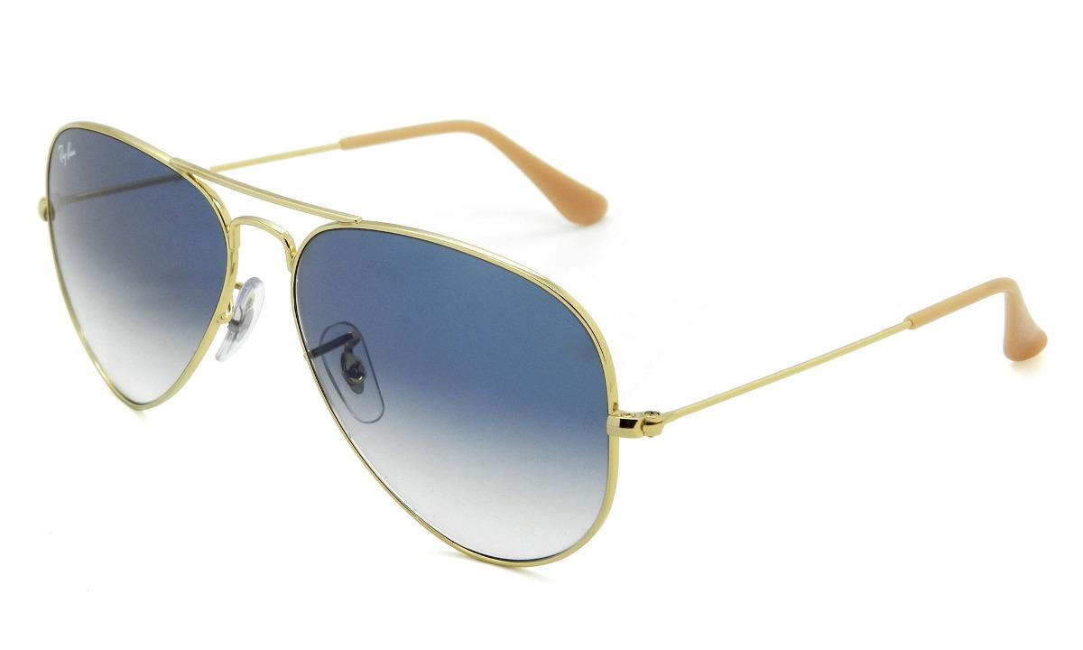 6f44f41638ecd óculos ray ban rb3025 001 3f 58 aviador médio - lente 58mm. Carregando zoom.