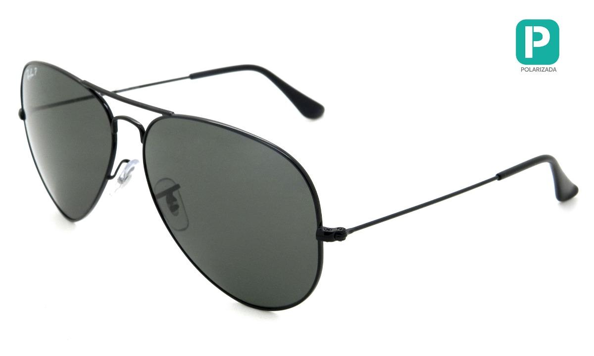 451d7ecf3 óculos ray ban rb3025 002/58 62 aviador grande polarizado -. Carregando zoom .