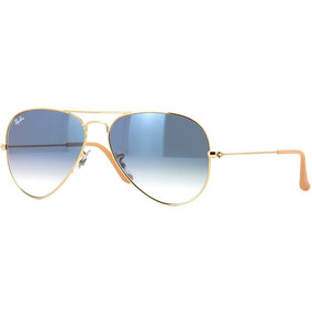 02d9327238 Rayban Aviador Azul Degrade De Sol Ray Ban Aviator - Óculos no ...