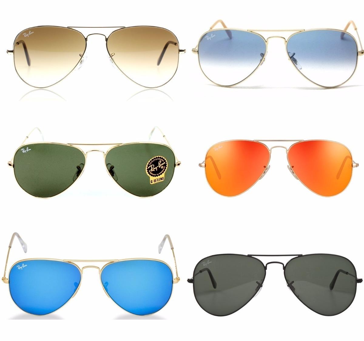 76915460b7249 óculos ray-ban rb3025 aviador original masculino feminino. Carregando zoom.