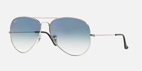 bc8b2ae2d Óculos Sol Ray Ban Rb3025 Aviador Prata G15 Verde Original - Óculos ...