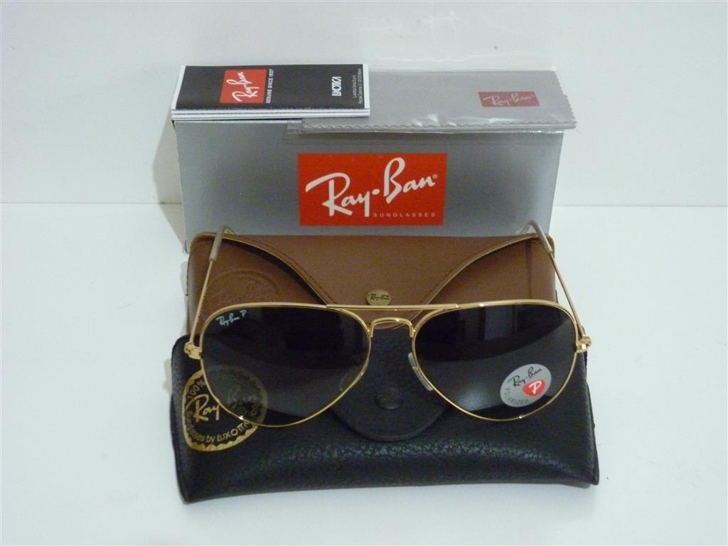 f464a297c Óculos Ray Ban Rb3025 Aviador Polarizado De Cristal - R$ 299,00 em ...