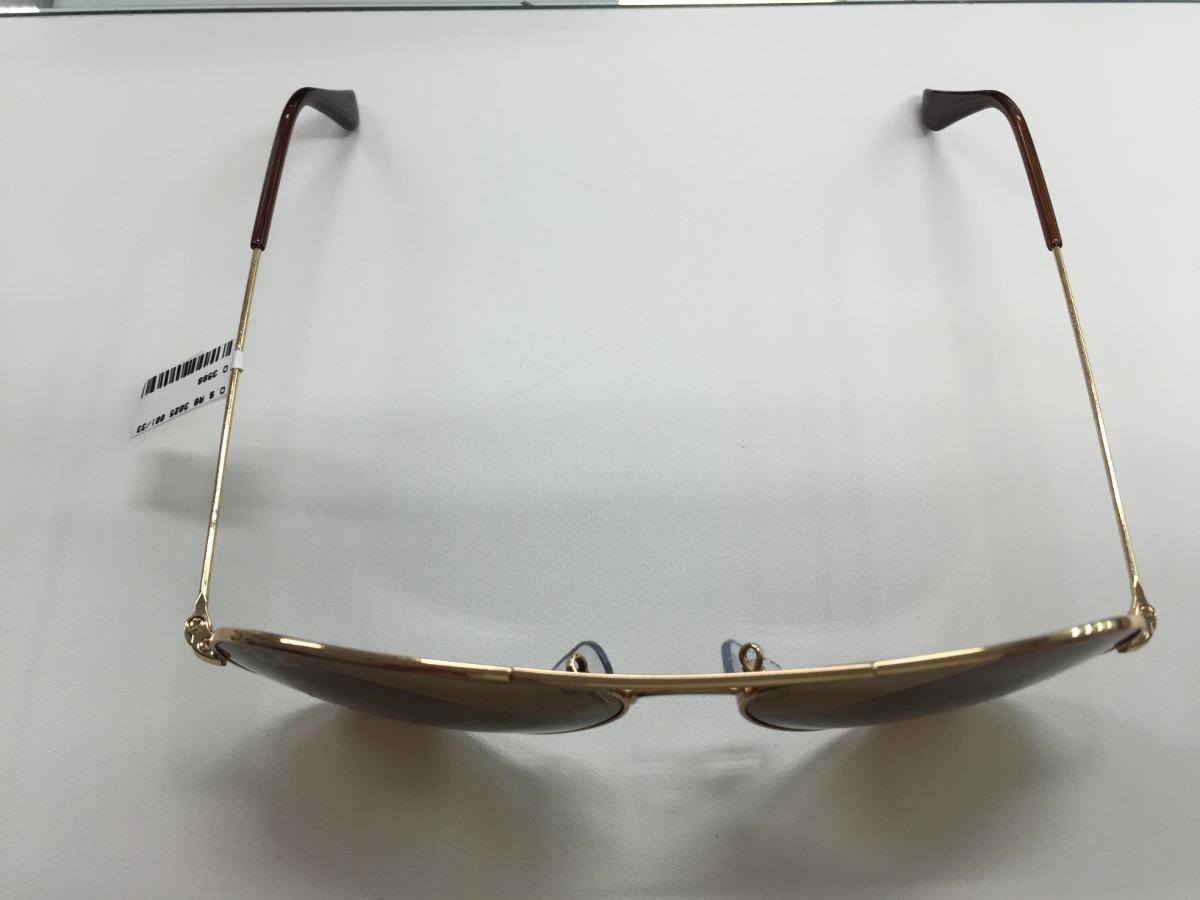 3ce31ac56 oculos ray ban rb3025 aviator large metal 001/33 58 original. Carregando  zoom.