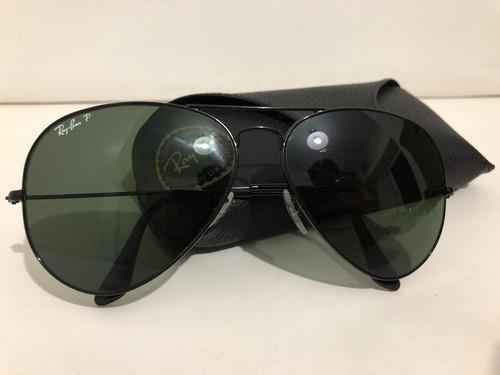 ... euenvio importados relógios roupas. Óculos ray ban rb3025 aviator preto  polarizado original r 229 00 5eb029b049