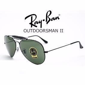 5e6e1267f7bd8 Óculos Ray-ban Rb3029 Outdoorsman Caçador Aviador Original - R  459 ...
