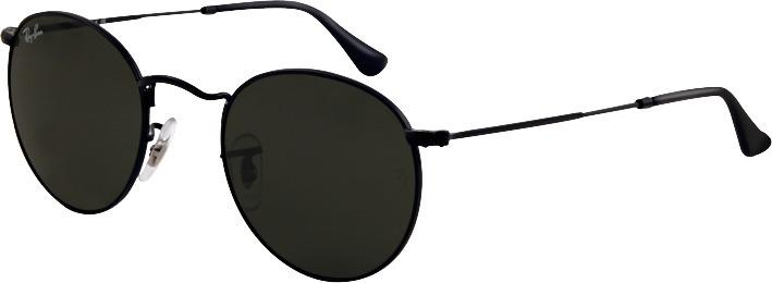 886458285 Óculos Ray-ban Rb3447 Round Metal Original Todo Preto - R$ 192,00 em ...