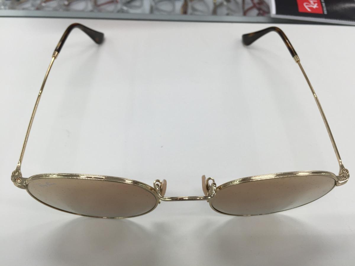 150f457a97d38 oculos ray ban rb3447n round metal 001 z2 50 lente reta. Carregando zoom.