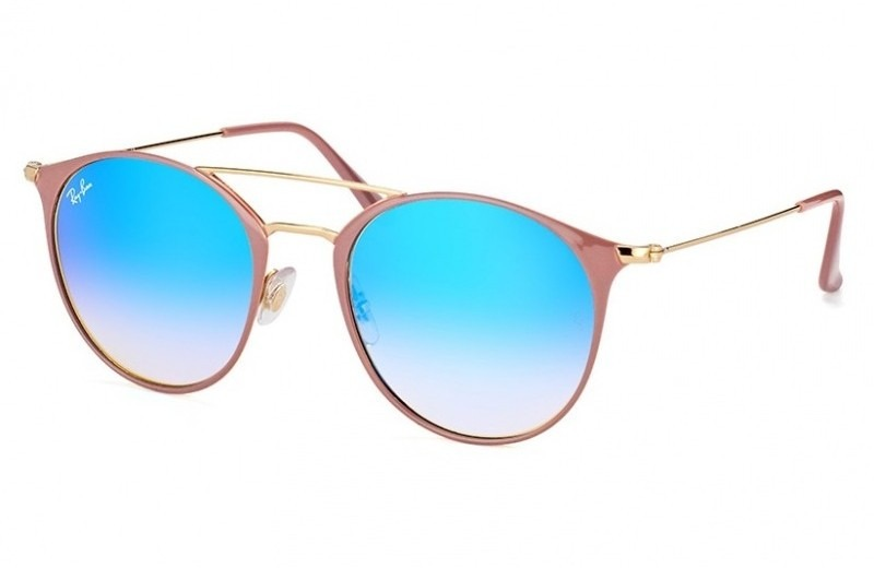 c9dca5d58d596 óculos ray-ban rb3546 52 - nude e azul. Carregando zoom.