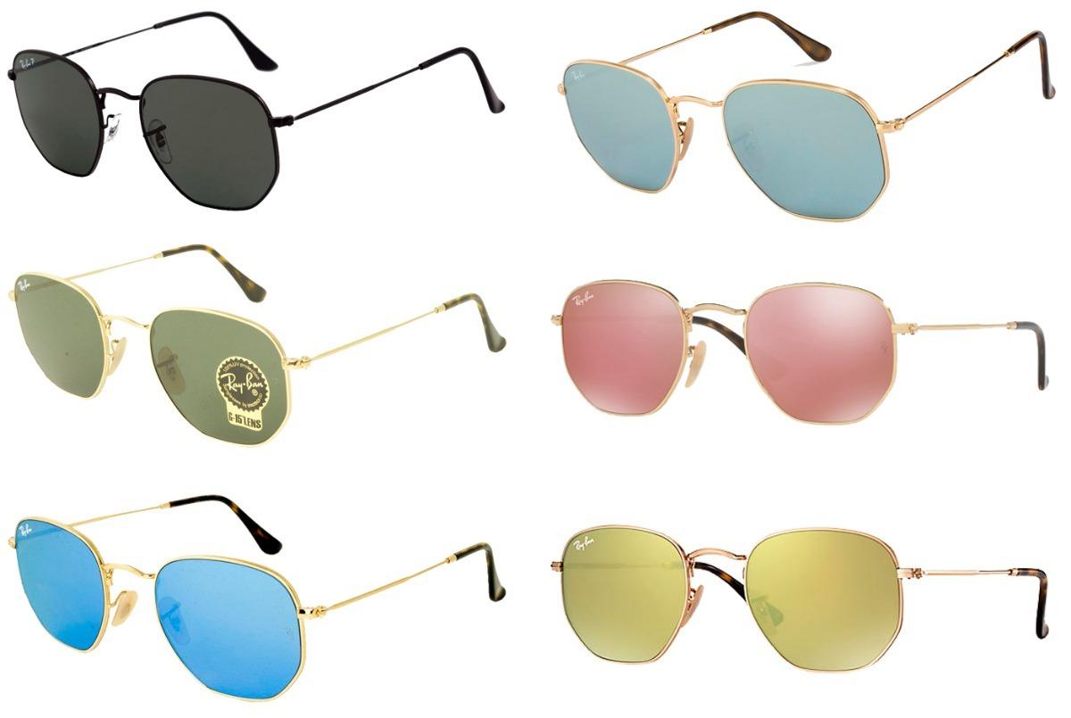 óculos ray-ban rb3548 hexagonal original masculino feminino. Carregando  zoom. 994c5cc43b