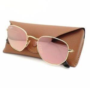 436309544 Óculos Ray Ban Rb3548 Rose Quadrado Feminino Lançamento - R$ 98,70 ...