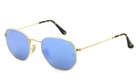 dc34ecf15 Óculos Ray Ban Rb3548nl 001/90 51 Hexagonal - Lente 51mm