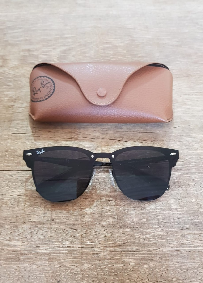 f3ebe18c8131c ... get óculos ray ban rb3576 clubmaster blaze preto black friday. carregando  zoom. 8ed8e bb020
