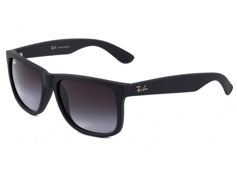 a8ae6618df68c óculos ray-ban rb4165 justin original preto lentes degrade. Carregando zoom.