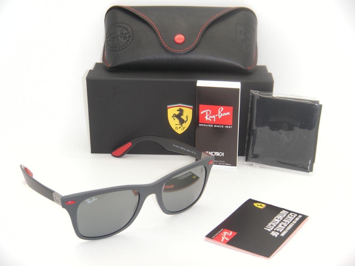 Oculos Ray Ban Rb4195 Wayfarer Liteforce Ferrari - R  295,00 em ... 28d4badbd5