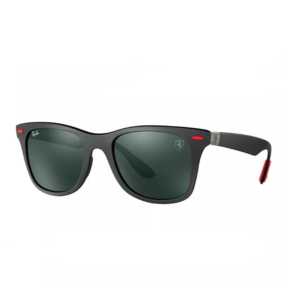 61ff300499 Óculos Ray-ban Rb4195 Wayfarer Liteforce Ferrari Envio 24h - R  299 ...