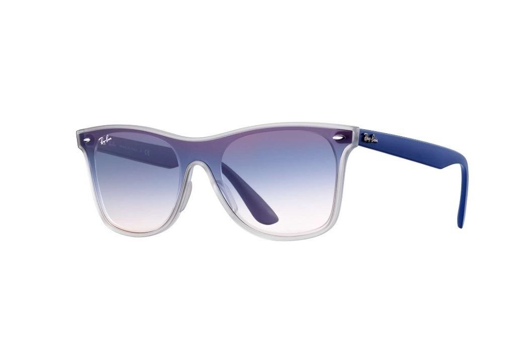 5624980576544 óculos ray ban rb4440 blaze wayfarer azul degradê - original. Carregando  zoom.