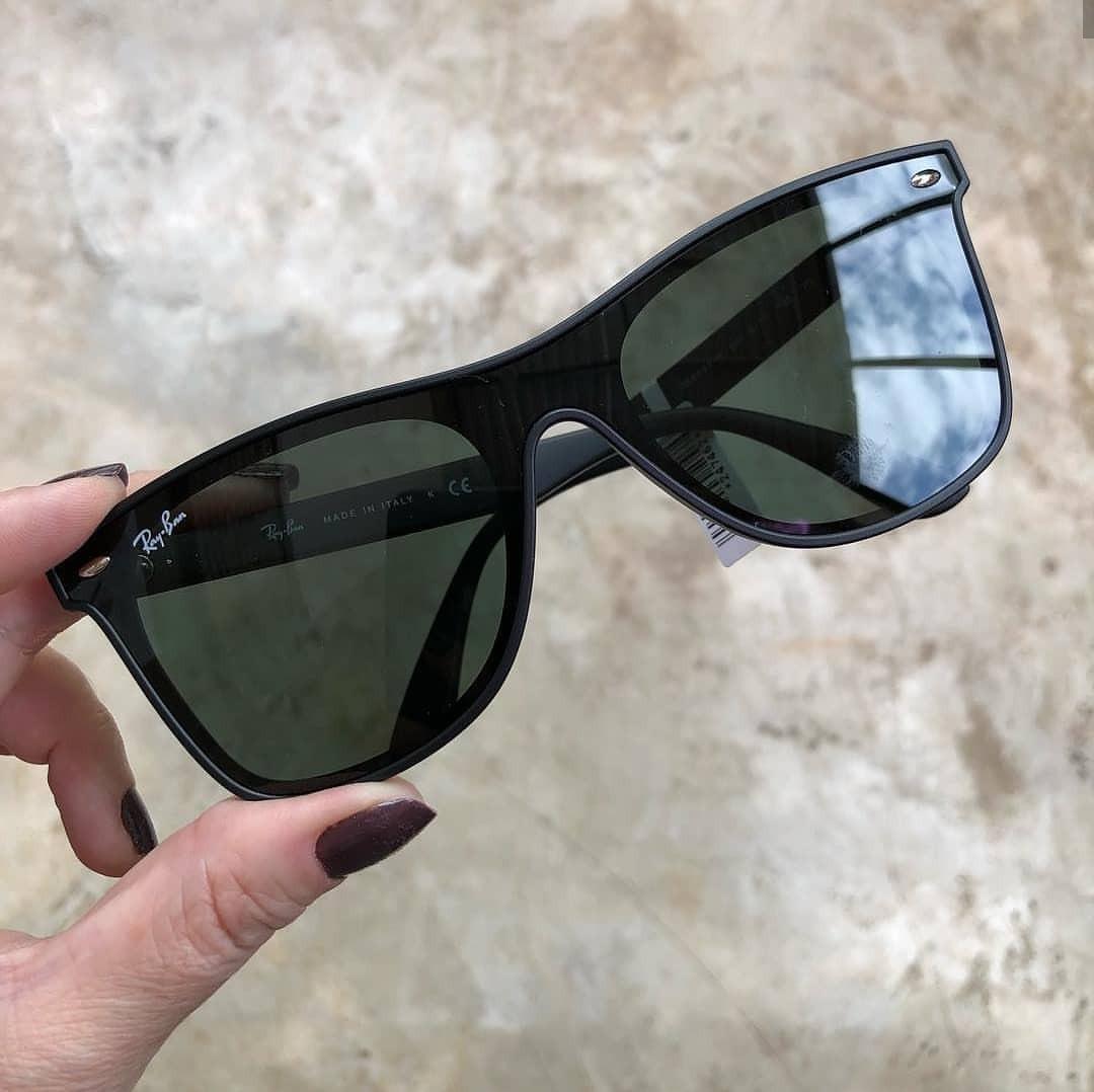 05c504eb48bf4 Óculos Ray-ban Rb4440 Wayfarer Blaze G15 Promoção - R  350,00 em ...