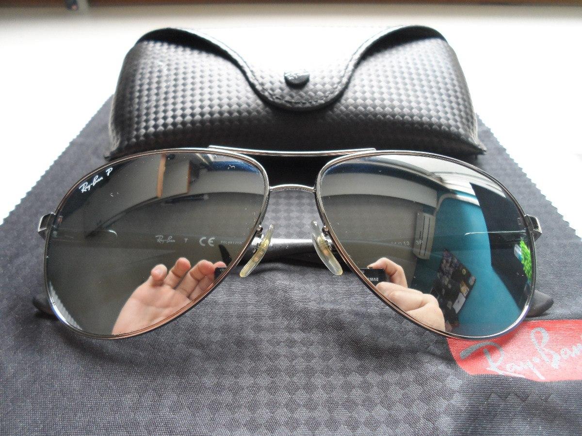 Óculos Ray Ban Rb8313 - Lente Cinza Polarizada - R  400,00 em ... c2cf915e03
