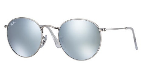 Óculos Ray Ban Round Metal Estiloso Retro Frete Gratis - R  120,00 ... 296bc0b2c7