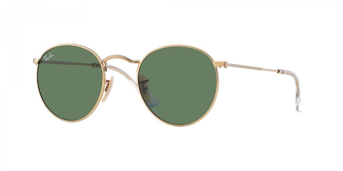 b5971941b7062 óculos ray- ban round metal rb3447 001 - lente g15. Carregando zoom.