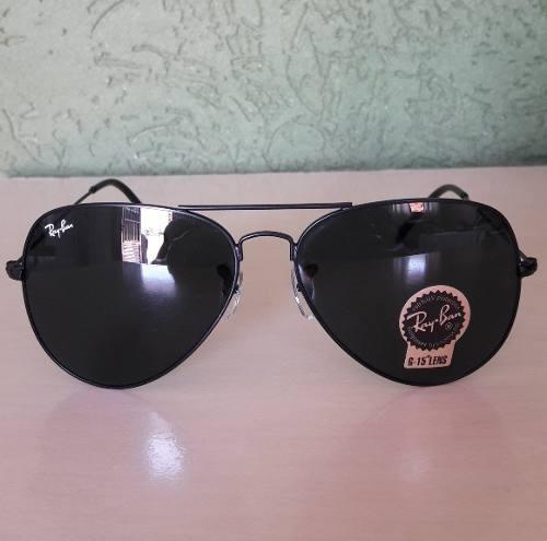 2dd733700a9c7 Óculos Ray Ban Top Aviador Diversas Cores Lente De Cristal G - R ...