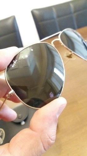 c45501a0a7473 Oculos Ray Ban Top Original Estilo Aviador Tamanho G - R  256