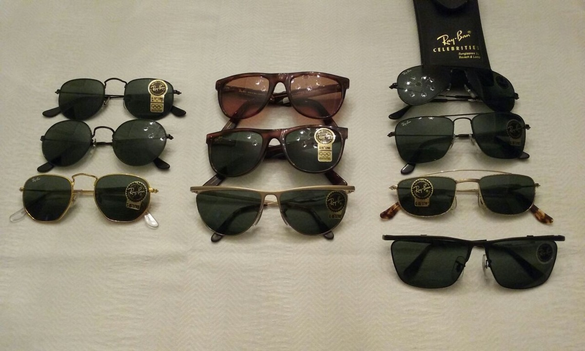 Óculos Ray Ban Vintage (lentes Bausch   Lomb) - R  380,00 em Mercado ... 1ab47bdc0b