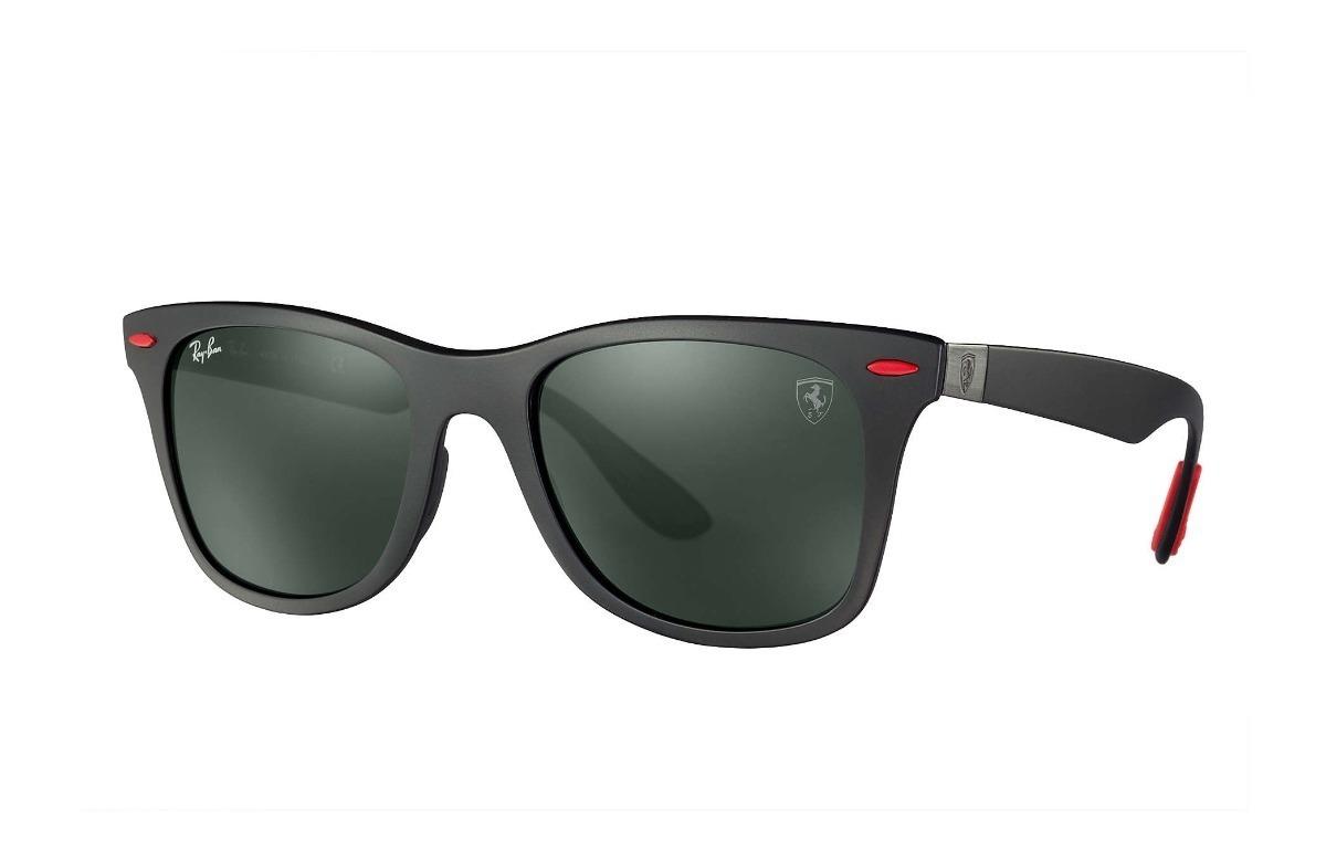 007747de12705 Óculos Ferrari Ray Ban Wayfarer Lite Force Rb4195 Varias Cor - R ...