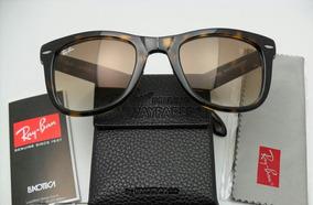 a49303df3 Oculos Rayban Dobravel Marrom - Óculos De Sol Sem lente polarizada ...