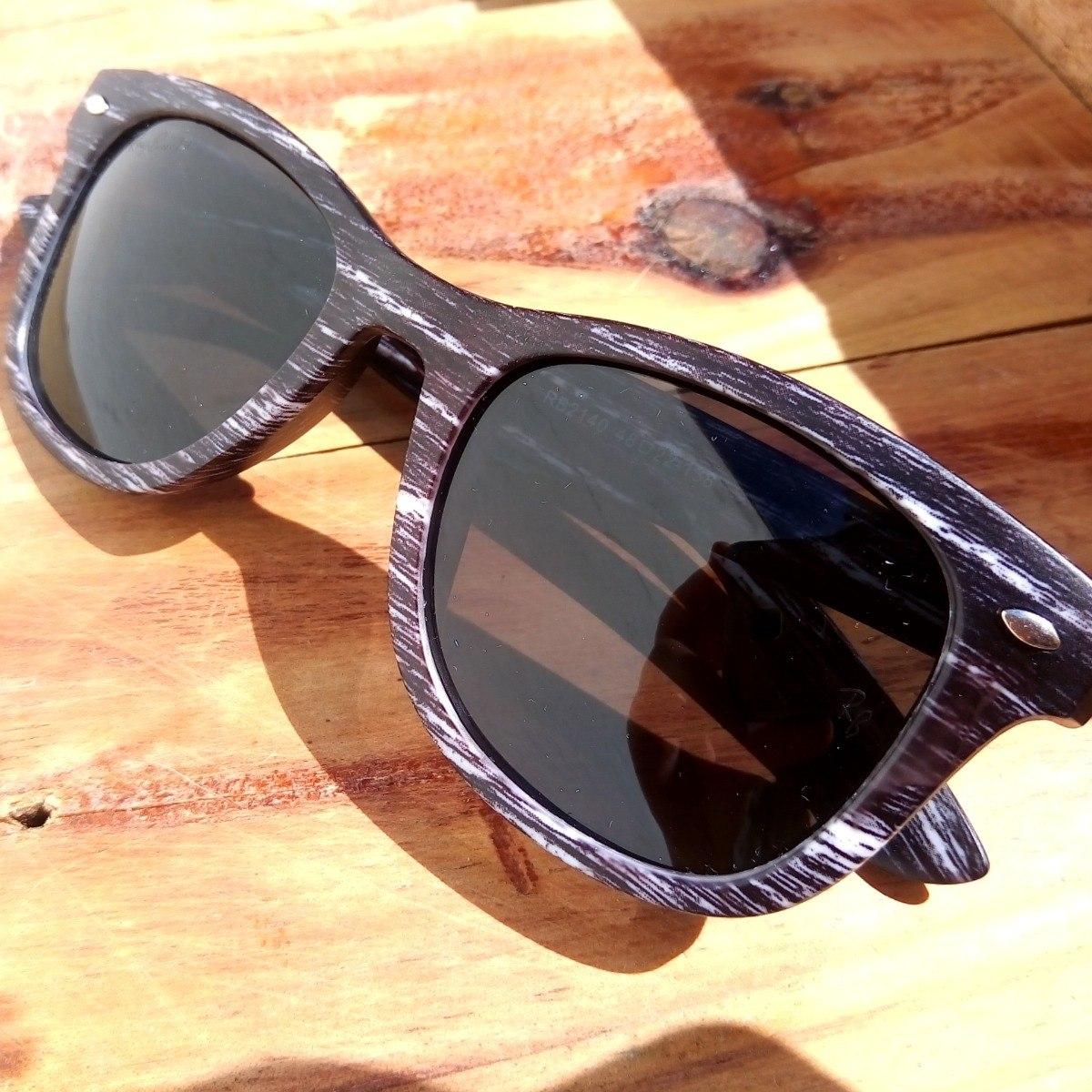 5c4a5918df228 oculos ray ban wayfarer estilo madeira rb2140 polarizado. Carregando zoom.