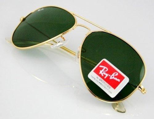 8e2f4ae1e Óculos Rayban Aviador 3025 Feminino Masculino Clássico - R$ 129,00 ...