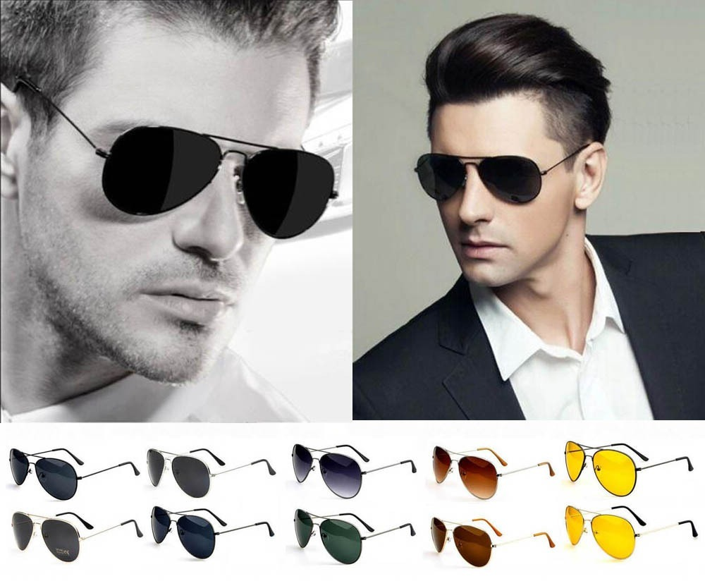 9bd808bfe Óculos Rayban Aviador Masculino E Feminino . - R$ 129,90 em Mercado ...