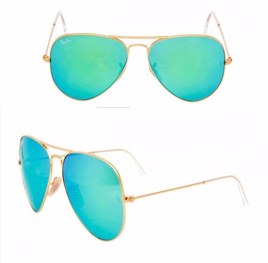 4c9f45ecd2eef oculos rayban aviador rayban rb3026 espelhado verde original. Carregando  zoom.