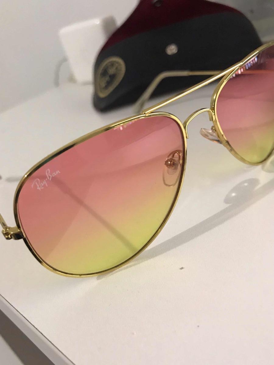 4ac7401643e36 Óculos Rayban Aviator Original - R  250,00 em Mercado Livre