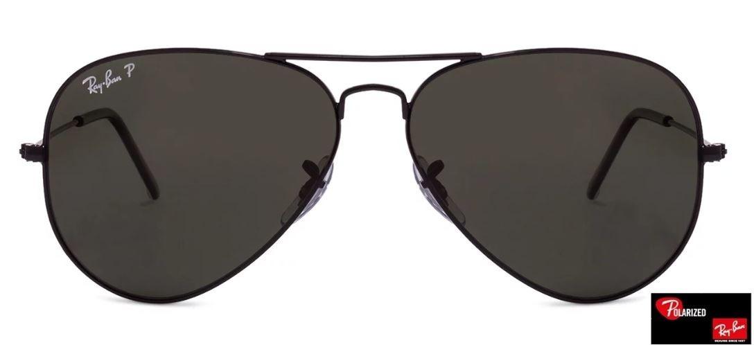 def6ad8e1e4e8 óculos rayban aviator rb3025 002 58 58mm polarizado  d29. Carregando zoom.
