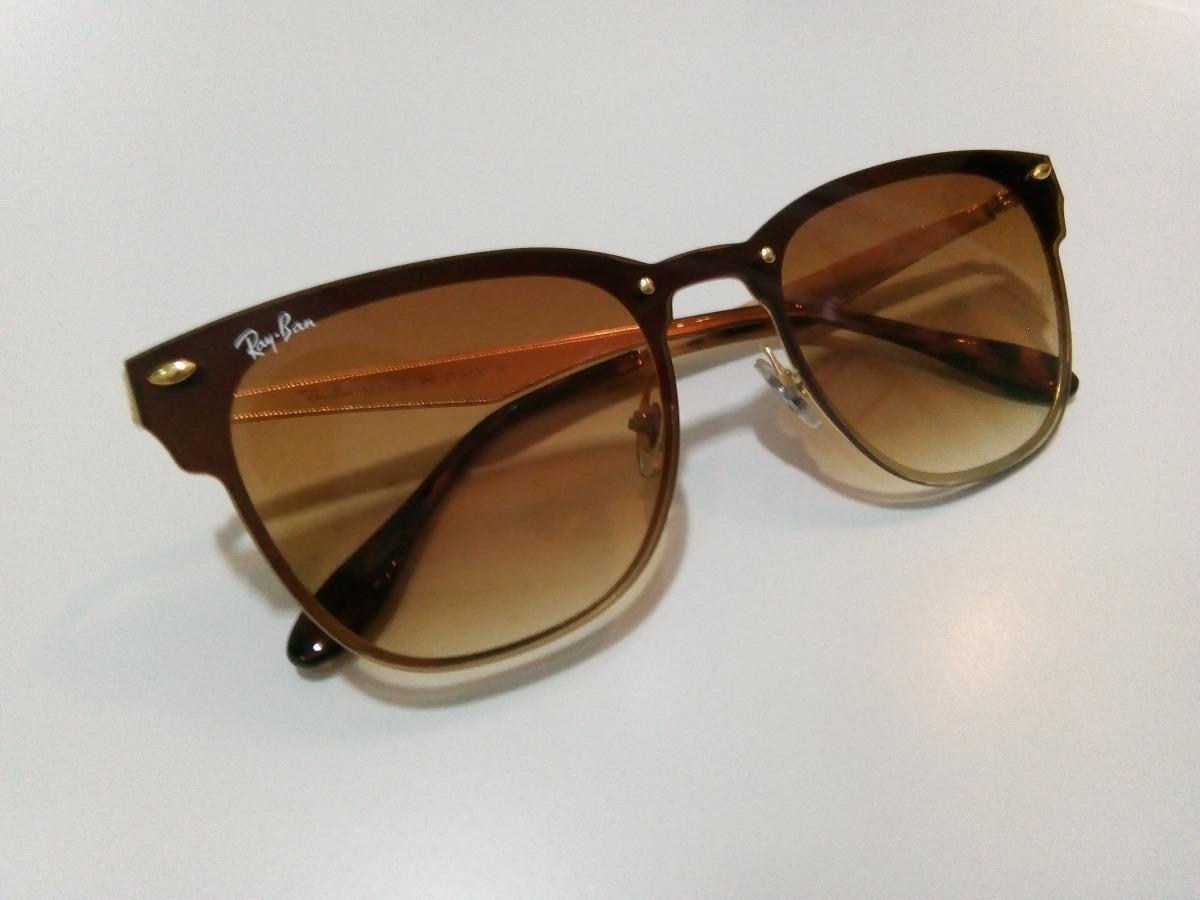 b35b223b0 Oculos Rayban Blaze Clubmaster Rb3576n - R$ 260,00 em Mercado Livre