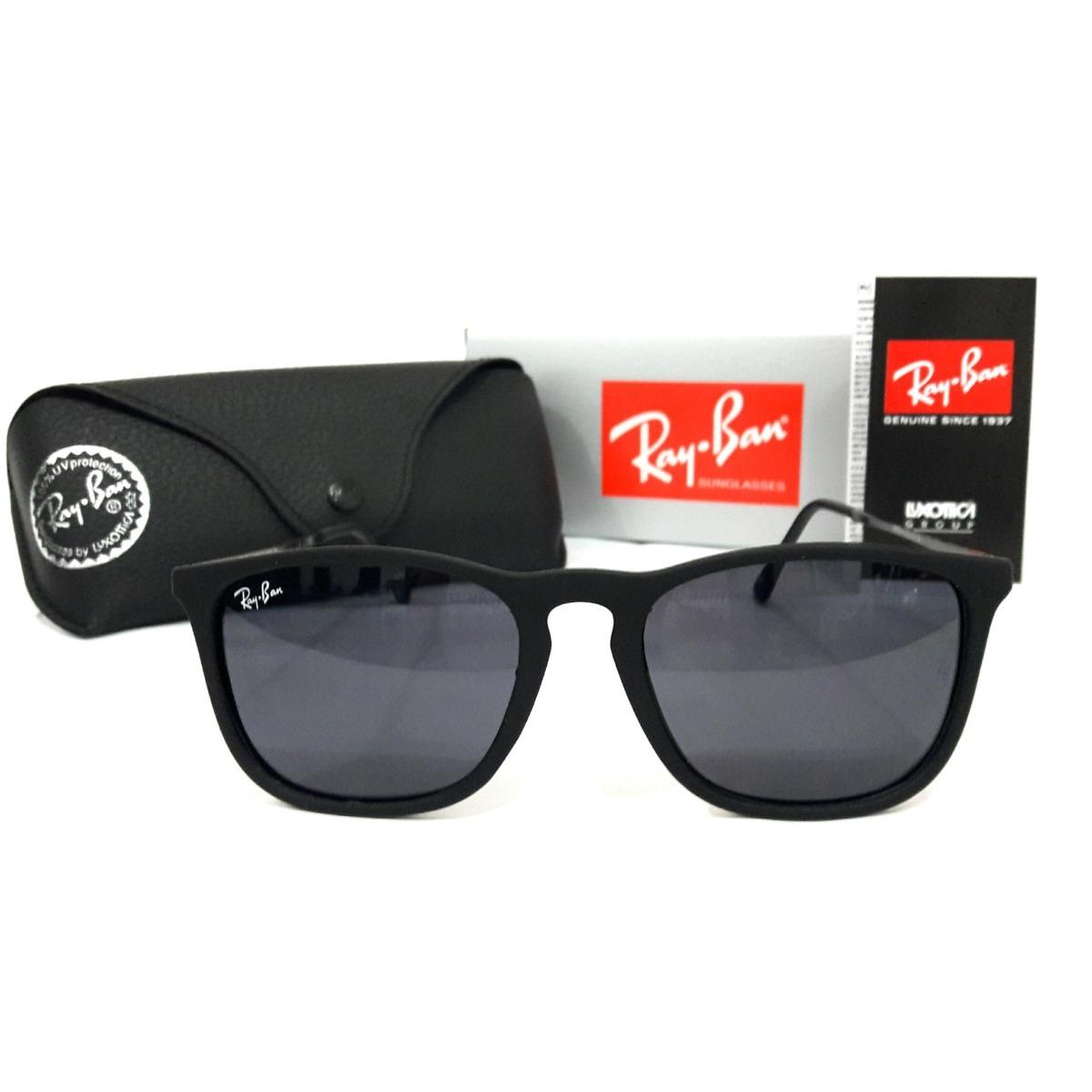 152674486 óculos rayban chris rb4187 preto feminino masculino oferta. Carregando zoom.