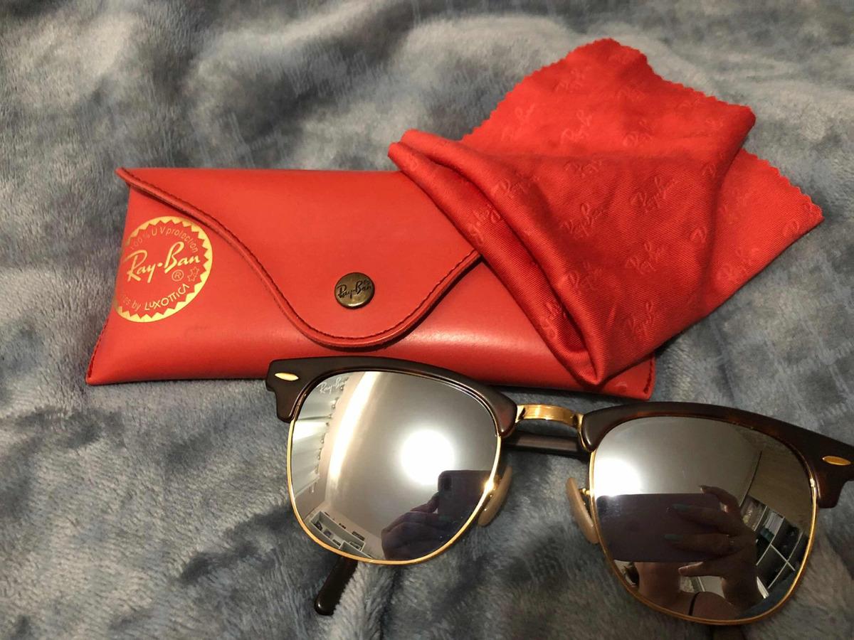 Óculos Rayban Clubmaster - R  350,00 em Mercado Livre 4b3ff572ba