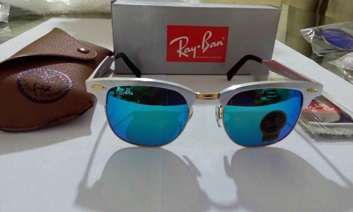 d30b2b1ce3 óculos rayban clubmaster aluminum rb3507 137 7q 51-21 origin. Carregando  zoom.
