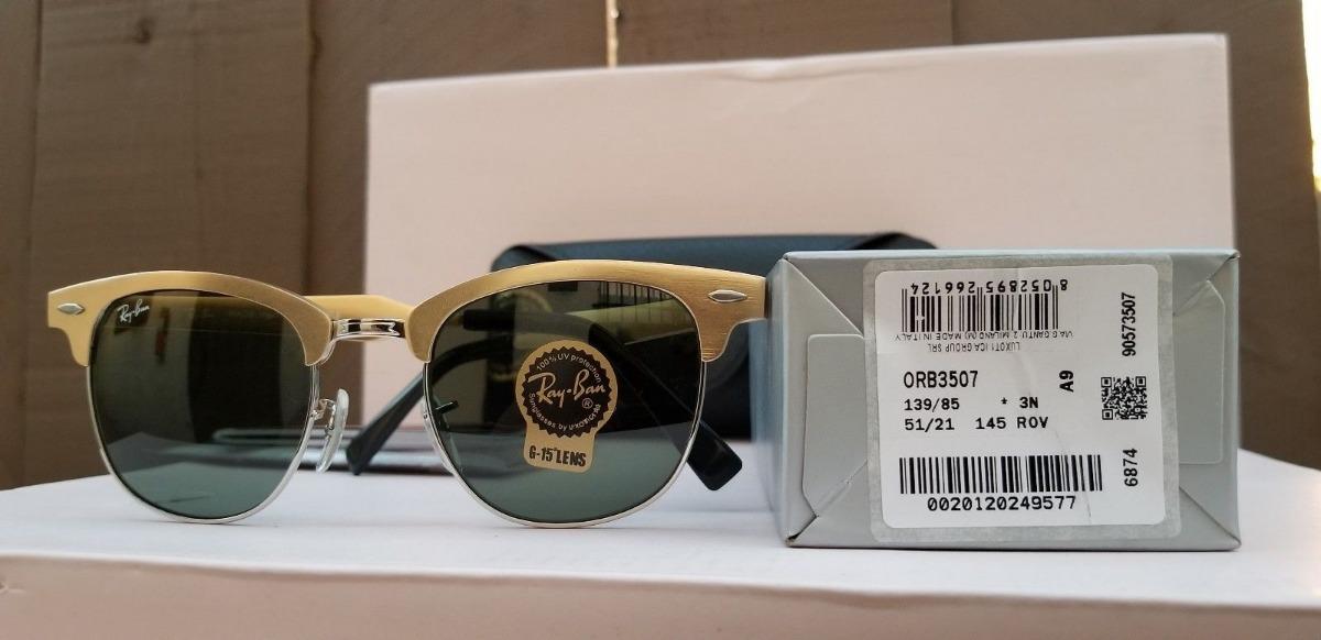 1d9b0ca3463f4 oculos rayban clubmaster rb3065 original masculino feminino. Carregando zoom .